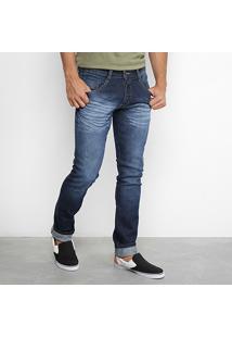 Calça Jeans Skinny Biotipo Amassada Masculina - Masculino