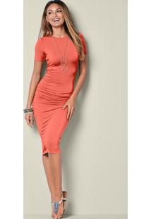 eba9313c5 Vestido Bonprix Drapeado feminino | Shoelover