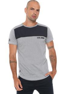 Camiseta Fatal Recorte Cinza