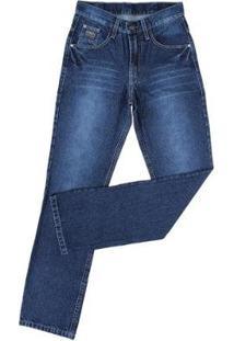 Calça Jeans Silver King Farm Masculina - Masculino-Azul Escuro