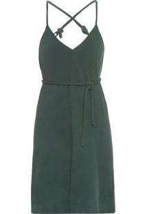Vestido Chamois - Verde