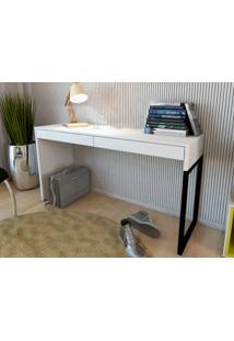 Mesa Para Escritorio Desk Branco - Fitmobel