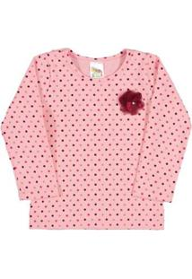 Blusa Rotativo Pulla Bulla - Feminino-Rosa
