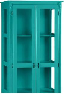 Cristaleira Lecker Glass - Laca Azul