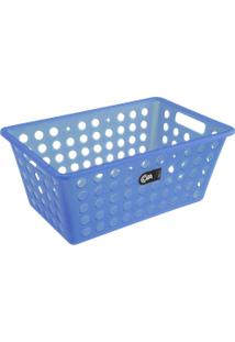 Cesta One Grande 28,8 X 19,1 X 12,3 Cm Azul Coza