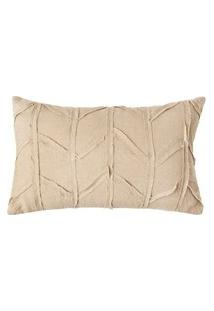 Capa Almofada Nesting Patch 30 X 50 Cm - Home Style
