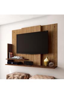Painel Para Tv 32 Polegadas Dallas Buriti E Havana 120 Cm