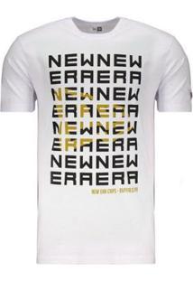Camiseta New Era Corporate Fitted - Masculino-Branco