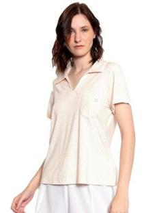 Blusa Malha Listrada Moché Feminina - Feminino