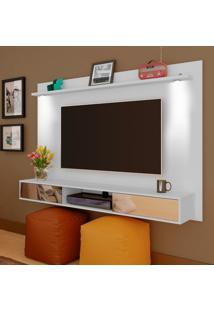 Painel Para Tv Até 47 Polegadas Com 2 Gavetas Platinum Artely Branco