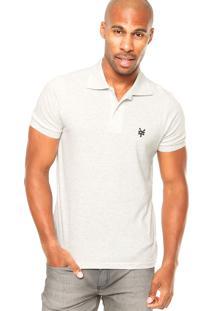 Camisa Polo Zoo York Contraste Off-White