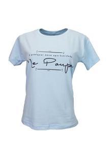 T-Shirt Me Poupe Azul