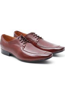 Sapato Social Pelica - Masculino-Marrom