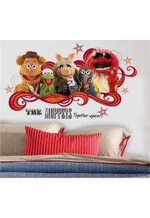 Adesivo Decorativo Roommates - Muppets Roommates - Branco - Dafiti