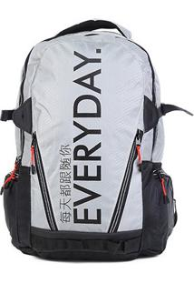 Mochila Seanite Everyday - Unissex-Cinza