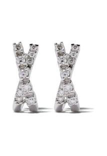 Dana Rebecca Designs Par De Brincos Ava Bea De Ouro 14K Com Diamante - Gold