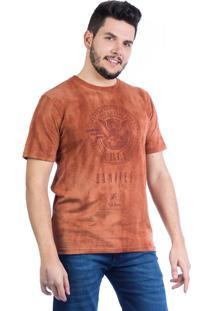 Camiseta Carlan Estonada Aloha Laranja