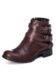 Bota Feminina London Chocolate
