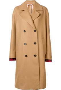 Nº21 Double Breasted Coat - Neutro