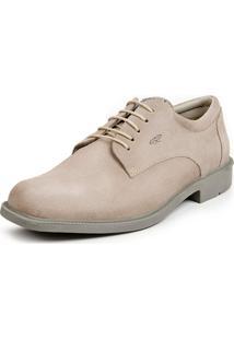 Sapato Calprado Camurça Areia