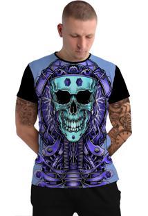 Camiseta Stompy Tattoo Rock Collection 120 Preto