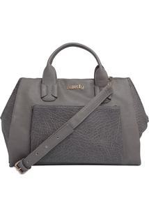 Bolsa Butterfly Handbag Cinza
