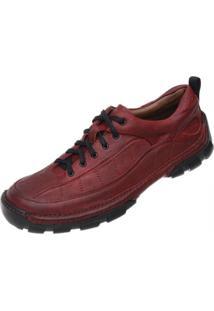 Sapato Em Couro Hayabusa California 40 - Vermelho