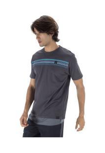 Camiseta Hd Estampa Corrosive - Masculina - Cinza Escuro