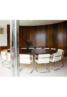 Cadeira Mr245 Inox Suede Amarelo - Wk-Pav-06