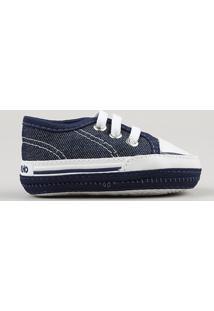 Tênis Jeans Infantil Pimpolho Azul Escuro