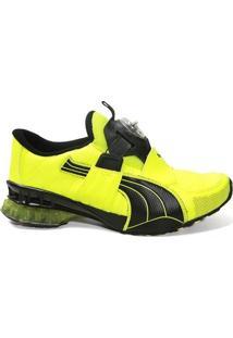 Tênis Puma Cell Aether Sl 468194 Training Masculino Yellow Limão Black