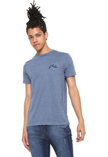 Camiseta Rusty Estampada Azul