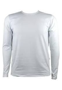 Blusa Térmica Masculina Segunda Pele Thermo Premium - Cor Branco
