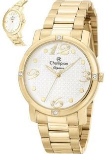 Relógio Champion Elegance - Feminino-Dourado