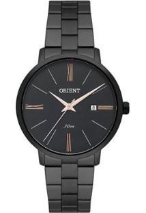 Relógio Orient Analógico Feminino - Feminino-Preto