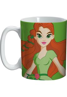 Caneca De Porcelana Verde 135Ml Poison Ivy Urban Home