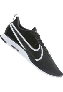 Tênis Nike Zoom Strike 2 - Masculino - Cinza Escuro/Branco