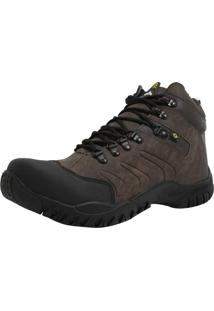 Bota West Line 4 Chocolate E Preto