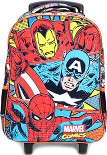 Mala Xeryus Rodas Marvel Comics Trio - Masculino