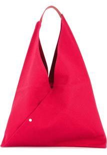 Cabas Bolsa Tote - Vermelho