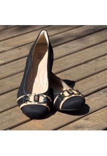 Sapato Dm Extra Camurça Preto Dme17361572 Numeração Especial Tamanhos Grandes 41 42 43