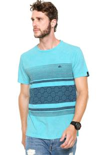 Camiseta Quiksilver Storm Azul