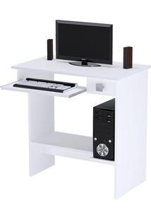 Mesa De Computador Branco Brilho – Ajl