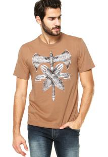 Camiseta Triton Brasil Marrom