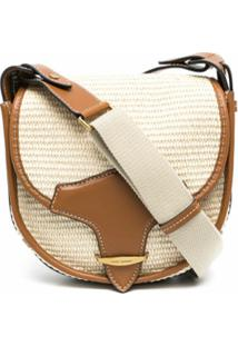 Isabel Marant Botsy Saddle Bag - Neutro