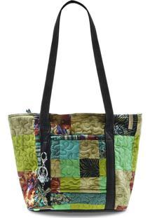 Bolsa Savanah Clover Em Patchwork Original - Multicolorido - Feminino - Dafiti