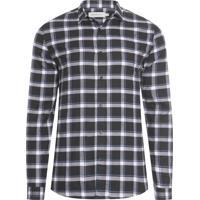 Camisa Masculina Xadrez Flanela - Preto 1071597c4936c