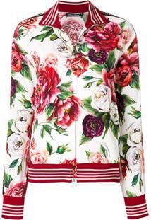 Dolce & Gabbana Blusa De Moletom Com Estampa - Branco