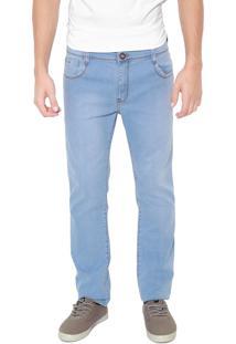 Calça Jeans Hang Loose Reta Otto Azul