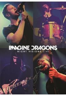 Imagine Dragons Night Visions Live - Dvd + Cd Rock